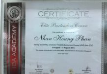 The Elite Bartenders Course (JWC) Asia