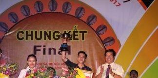 Huỳnh Đặng Minh Đức - Đệ Nhất pha chế cà phê tại Việt Nam năm 2017