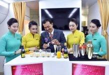Vietnam Airlines sắp phục vụ 11 loại cocktail mới